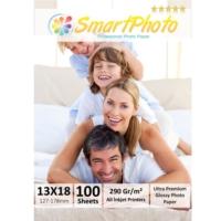 Smart Photo 13X18 Parlak (Glossy) 290 Gr/m² 100 Adet/1Paket Profesyonel Fotoğraf Kağıdı