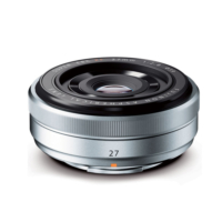 Fujifilm Fujinon XF 27mm F2.8 Gümüş Lens