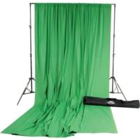 Savage (U.S.A) Chroma Green Pro Cloth Backdrop Muslin Greenbox Fon