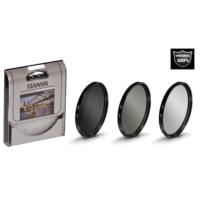 Nikon 18-55mm Lens için Koruyucu Uv + Cir Cpl Circular Polarize + Nd8 Uzun Pozlama Nd Filtre -Tianya-