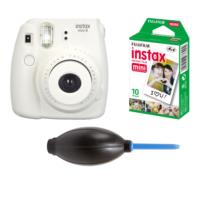 Fujifilm İnstax Mini 8 Beyaz + 10'lu Kağıt + Pompa