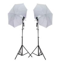 Fancier Sürekli Işık Seti 65w 2'li Şemsiyeli