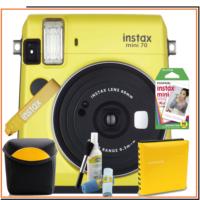 Fujifilm Instax Mini 70 Sarı Mega Hediye Kit