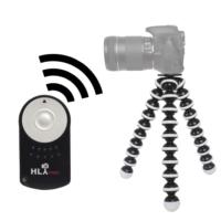 Canon 70D İçin HLYpro Gorillapod Tripod + RC-6 Uzaktan Kumanda
