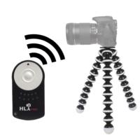 Canon 60D İçin HLYpro Gorillapod Tripod + RC-6 Uzaktan Kumanda