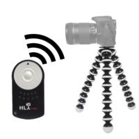 Canon 100D İçin HLYpro Gorillapod Tripod + RC-6 Uzaktan Kumanda
