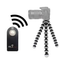 Nikon D5000 İçin HLYpro Gorillapod Tripod + ML-L3 Uzaktan Kumanda