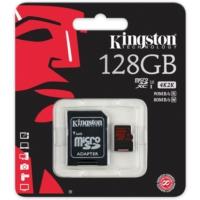 Kingston 128Gb Microsd U3 90/80 Sdca3/128Gb Hafıza Kartı