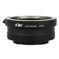 Kiwifotos Manuel Lens Adaptörü (Sony E Gövde - Canon EF/EF-S Lens)