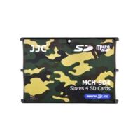 JJC Memory Card Case Hafıza Kartı Tutucu (4 SD Kart - Kamuflaj)