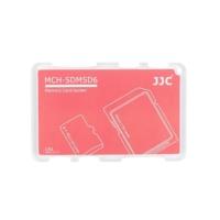JJC Memory Card Case Hafıza Kartı Tutucu (2 SD Kart & 4 MicroSD Kart - Kırmızı)