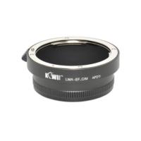 Kiwifotos Manuel Lens Adaptörü (Canon EF-M Aynasız Gövde - Canon EF Lens)