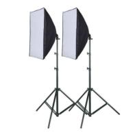 Fancier Sürekli Işık Seti 150W 40 x 60 Softbox -İkili