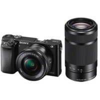 Sony A6000 16-50 Mm + 55-210 Mm Lensli Fotoğraf Makinesi