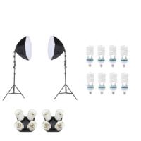 Fancier Sürekli Işık Seti 150W 60 Cm Octagon - 2X4 Set