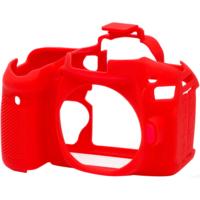 Canon 80D Kırmızı EasyCover (Silikon Kılıf)