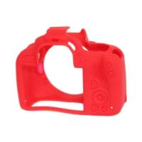Canon 100D / SL1 Kırmızı EasyCover (Silikon Kılıf)