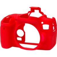 Canon 760D / T6s Kırmızı EasyCover (Silikon Kılıf)