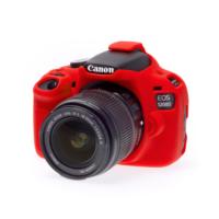Canon 1200D / T5 Kırmızı EasyCover (Silikon Kılıf)