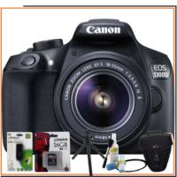 Canon Eos 1300D Dslr Fotoğraf Makinesi 18-55Mm Is Lens Kitli