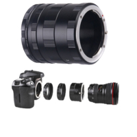 Haskan Canon 18-55mm Lens İçin Makro Uzatma Tüpü