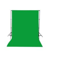 Greenbox Chromakey- Green Screen- Greenbox- Yeşil Fon Perde (3 X4 M) - % 100 Pamuk