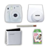 Instax Mini 9 Şipşak Fotoğraf Makinesi Set - Smoky White