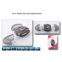 S-link SLX-CR25 Usb Harici SD+ Micro SD Kart Okuyucu (4891)