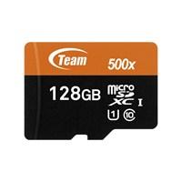 Team 128GB MicroSDXC USH-I Class 10 80MB/Sn Hafıza Kartı+SD Adaptör (TMMSD128GUHS)