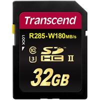 Transcend 32Gb Sdhc Class3 Uhs-Iı 1900X 285/180Mb