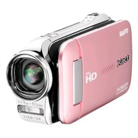 Sanyo Gh1 Full Hd 5X Optik Zoom Pembe Video Kamera