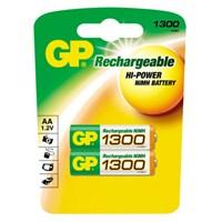 GP 1300 NI-MH Şarjlı Kalem Pil (AA) 130AAHC-UC2
