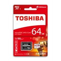 Toshıba 64Gb 90Mb/Sn Microsdxc™ Uhs-1 U3 Excerıa Thn-M302r0640ea