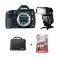 Canon Eos 5D Mark Iıı + Ttl Flash + Hafıza Kartı + Çanta