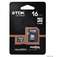 Tdk 16Gb Mıcro Sd Card Class10