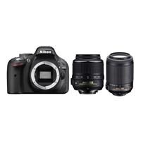 Nikon D5200 + 18-55 Vr + 55-200 F/4.5-5.6G If Af-S Dx Vr + Çanta + 16 Gb Hafıza Kartı