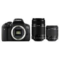 Canon Eos 750D + 18-55 Is Stm + 55-250 Is Iı + Çanta + 16 Gb Hafıza Kartı