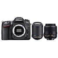 Nikon D7100 + 18-55 Vr + 55-200 F/4.5-5.6G If Af-S Dx Vr + Çanta + 16 Gb Hafıza Kartı