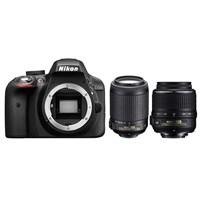 Nikon D3300 + 18-55 Vr + 55-200 F/4.5-5.6G If Af-S Dx Vr + Çanta + 16 Gb Hafıza Kartı