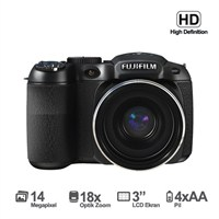 "Fujifilm FinePix S2995 14MP 18x Optik Zoom 3"" LCD HD Video Dijital Fotoğraf Makinesi"