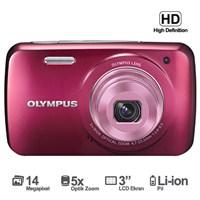 """Olympus VH-210 14 MP 5x Optik Zoom 3"""" LCD Ekran Dijital Fotoğraf Makinesi(3D Çekim)"""