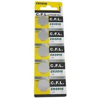 CFL CR2016 Lityum Para Pil 5 li Blister