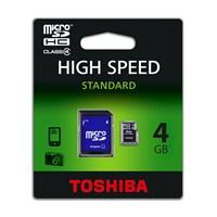 Toshiba 4 GB Class 4 Micro Sdhc Hafıza Kartı + Adaptor