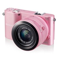 "Samsung NX1000 20-50mm Lens 20,3 MP 3.0"" LCD Wi-Fi Dijital Fotoğraf Makinesi"