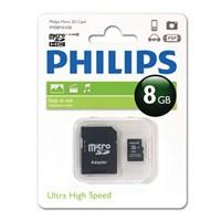 Philips 8GB Class 10 Micro SDHC+ AdaptörFM08MA45B