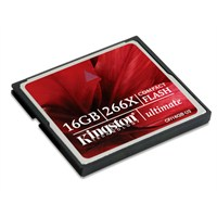 Kingston 16GB CompactFlash 266X Ultimate Hafıza Kartı CF/16GB-U2