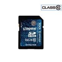 Kingston 16 GB Class 10 SDHC 100X Hafıza Kartı SD10G2/16GB