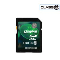 Kingston 128 GB SDX Class10 SDXC Hafıza Kartı SDX10V/128GB