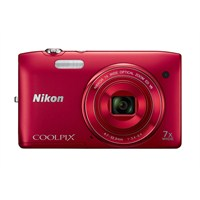 "Nikon Coolpix S3500 20.1 MP 7X Optik Zoom 2.7"" LCD Ekran Dijital Fotoğraf Makinesi"