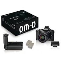 "Olympus OMD E-M5 Powerkit 16 MP 3"" OLED Ekran Kompakt SLR Fotoğraf Makinesi"